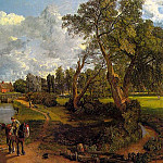 John Constable - FLATFORD MILL, 1817, OIL ON CANVAS