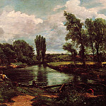 John Constable - A Water-Mill