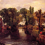John Constable - The Mill Stream