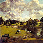 John Constable - WIVENHOE PARK, ESSEX, 1816, OIL ON CANVAS