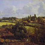John Constable - Golding Constables Kitchen Garden