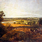 John Constable - STOUR VALLEY AND DEDHAM VILLAGE, APPROX. 1814,