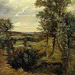 John Constable - DEDHAM VALE, 1802, OIL ON CANVAS