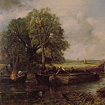 John Constable - A View on the Stour near Dedham