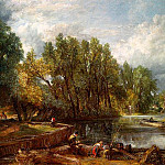 John Constable - STRATFORD MILL, 1820, OIL ON CANVAS