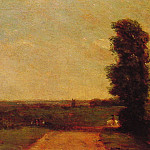 John Constable - View towards Dedham