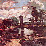 John Constable - Flatford Mill from the lock