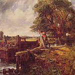 John Constable - Boat Passing a Lock