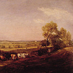 John Constable - Dedham Vale Morning