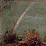 John Constable - 1812 Landscape with a Double Rainbow