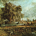 John Constable - leaping-horse