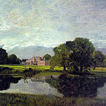 John Constable - MALVERN HALL, 1809, OIL ON CANVAS