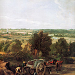 John Constable - View on Dedham
