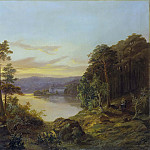 Joachim Frich - View of Ulriksdal