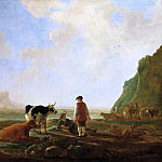 Aelbert Cuyp - Herdsmen With Cows