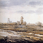 Aelbert Cuyp - Cuyp Albert View on Dordrecht Sun