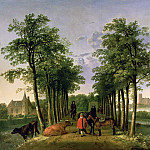 Aelbert Cuyp - The Avenue At Meerdervoort