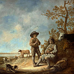 Musical Shepherds, Aelbert Cuyp