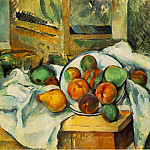 Paul Cezanne - Table, Napkin, and Fruit
