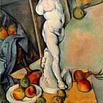 Paul Cezanne - STILL LIFE WITH PLASTER CUPID,1895, COURTAULD INSTIT