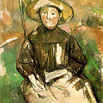 Paul Cezanne - CHILD WITH STRAW HAT,1895, GALERIE YOSHII, TOKYO VE