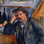 Paul Cezanne - Smoker