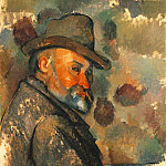Paul Cezanne - Self-Portrait with Soft Hat