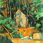 Paul Cezanne - The Cistern in the Park at Chateau Noir