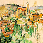 Paul Cezanne - GARDANNE,1885-86, THE BROOKLYN MUSEUM,NY. VENTURI 43