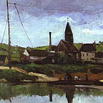 Paul Cezanne - View of Bonnieres