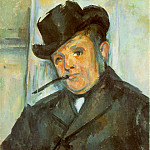 Paul Cezanne - PORTRAIT OF HENRI GASQUET,1896-97, MCNAY ART INSTITU