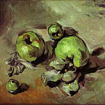 Paul Cezanne - Green Apples
