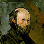 Paul Cezanne - SELF PORTRAIT,1878-80, THE PHILLIPS COLLECTION WASHI