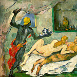 Paul Cezanne - 1872-75 Afternoon in Naples (Rum Punch)