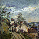 Paul Cezanne - The House of Dr Gachet in Auvers