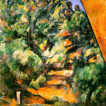 Paul Cezanne - Bibemus - The Red Rock