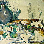 Paul Cezanne - STILL LIFE WITH WATER JUG,1892-93, TATE GALLERY,LOND