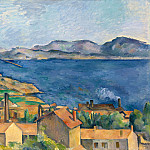 Paul Cezanne - THE BAY FROM LESTAQUE,C.1886, ART INST.OF CHICAGO