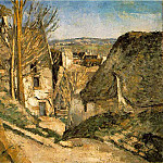 Paul Cezanne - HOUSE OF THE HANGED MAN,1873, Musee dOrsay,Paris