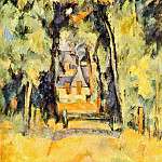 Paul Cezanne - Road at Chantilly