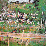Paul Cezanne - View of Auvers-sur-Oise