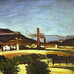 Paul Cezanne - Factories near the Mount of Cengle
