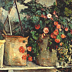 Paul Cezanne - still life with petunias c1879-80