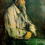 Paul Cezanne - PORTRAIT OF VALLIER,1906, PRIVATE COLLECTION VENTUR
