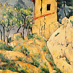 Paul Cezanne - THE HOUSE WITH CRACKED WALLS,1892-94, COLL.IRA HAUPT