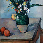 Paul Cezanne - the vase of tulips 1890-2