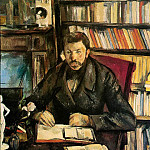 Paul Cezanne - PORTRAIT OF GUSTAVE GEFFROY,1895, COLLECTION MR. AND