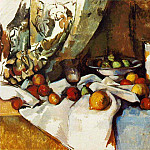 Paul Cezanne - STILL LIFE WITH APPLES,1895-98, MOMA NY,VENTURI 736