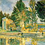 Paul Cezanne - JAS DE BUFFAN, THE POOL 1876 THE HERMITAGE