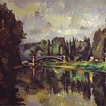 Paul Cezanne - The Banks of the Marne (Puskin)